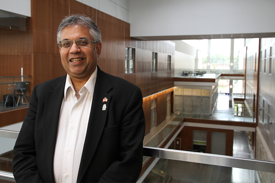 Kishor Wasan, dean of pharmacy and nutrition
