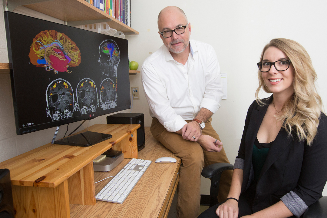 Student maps brain areas for surgery planning