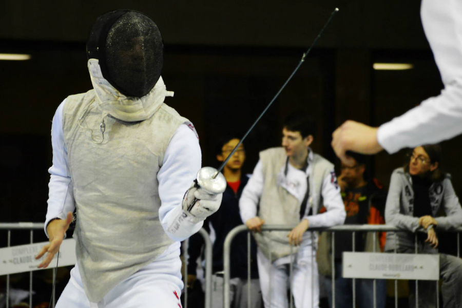 Two student fencers are making waves in the sport.