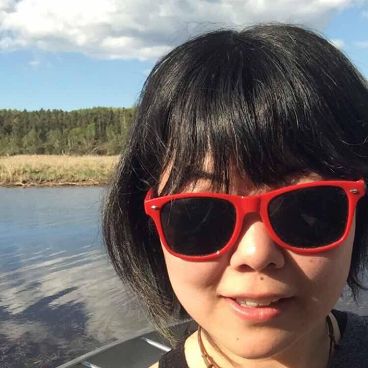 Student Gen Zha, originally from China, spent time in Île-à-la Cross this year as part of the Science Ambassadors program.