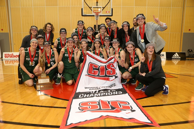 The University of Saskatchewan Huskies women's basketball team captured its first ever national championship in March.