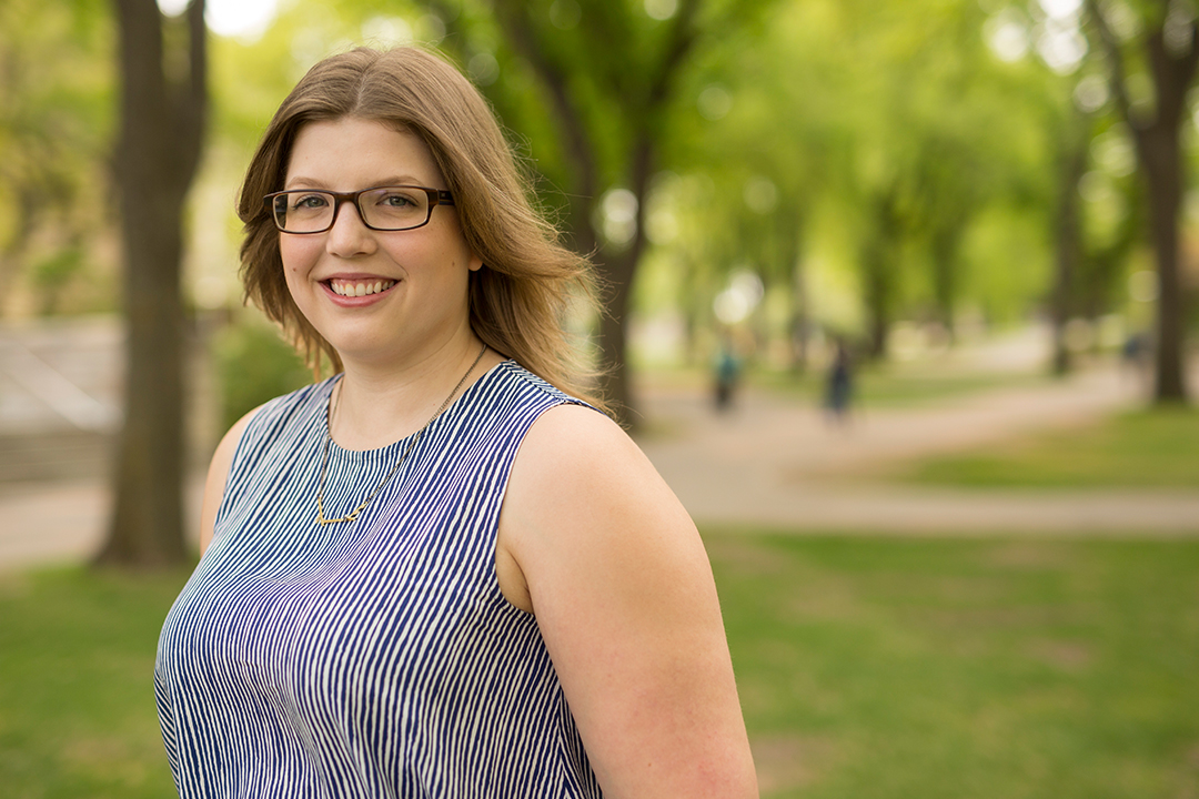 Kimberly MacKay is one of two U of S students awarded a Vanier scholarship.