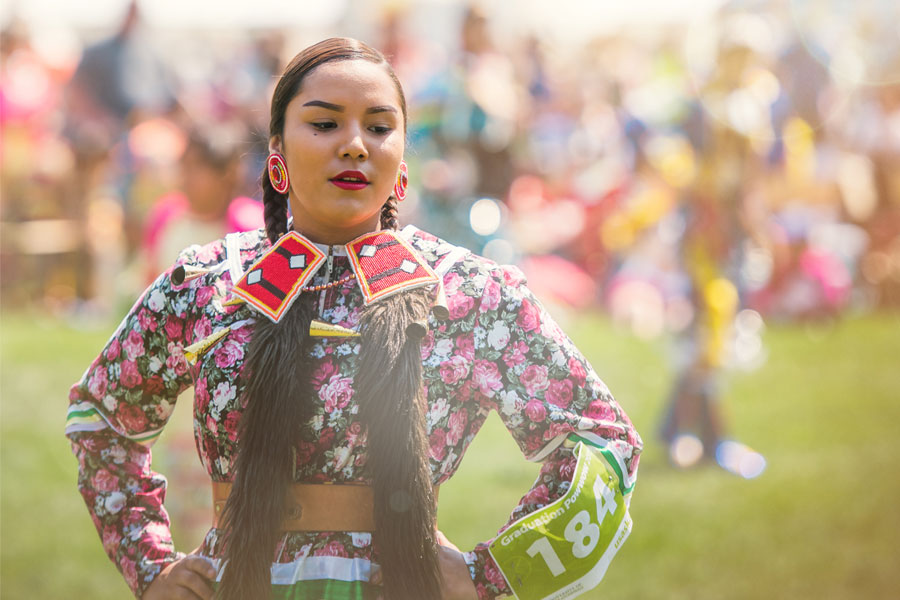 The 2016 Graduation Powwow takes place May 25 in the Bowl.