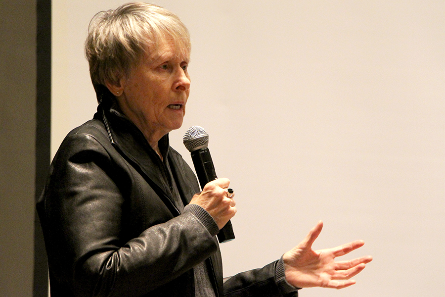 "Roberta Bondar visited the University of Saskatchewan on Feb. 4 to give a lecture titled ""Earth patterns from afar: A challenging perspective."""