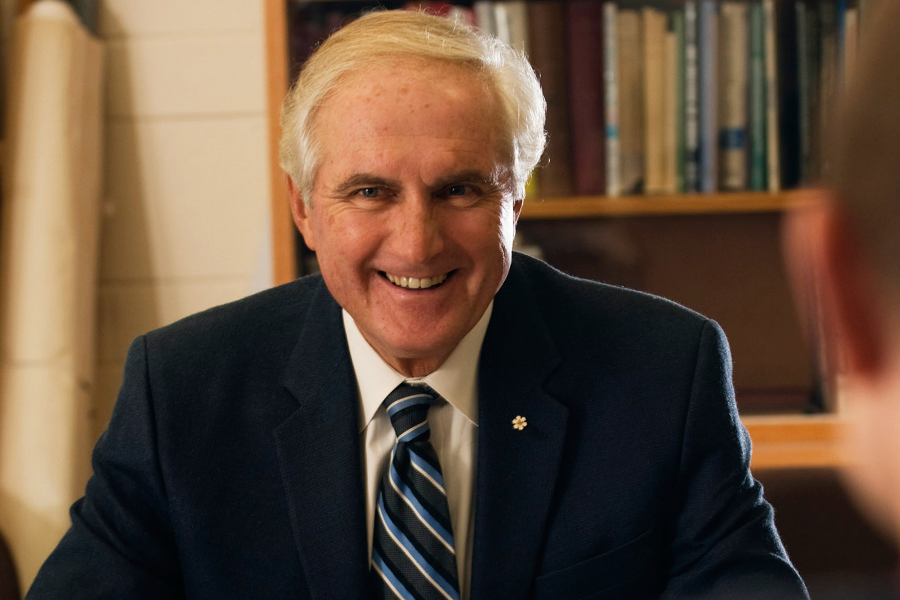 Roy Romanow will start his term as chancellor on November 1.