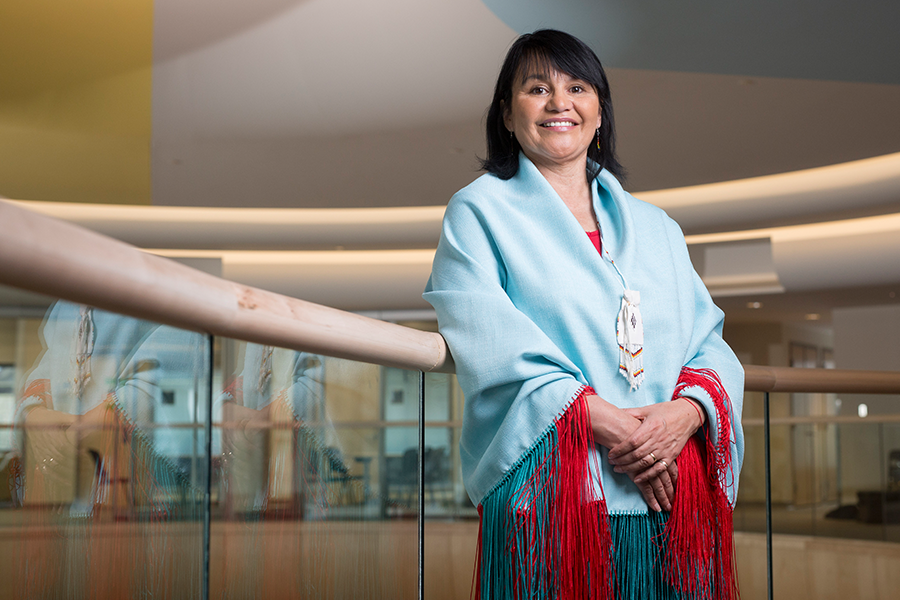 Val Arnault-Pelletier, Aboriginal co-ordinator in the College of Medicine.