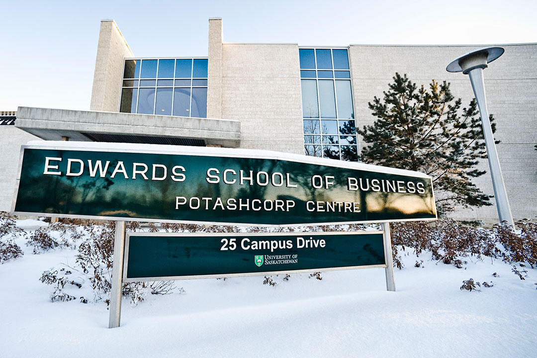 Image result for Edwards School of Business - University of Saskatchewan
