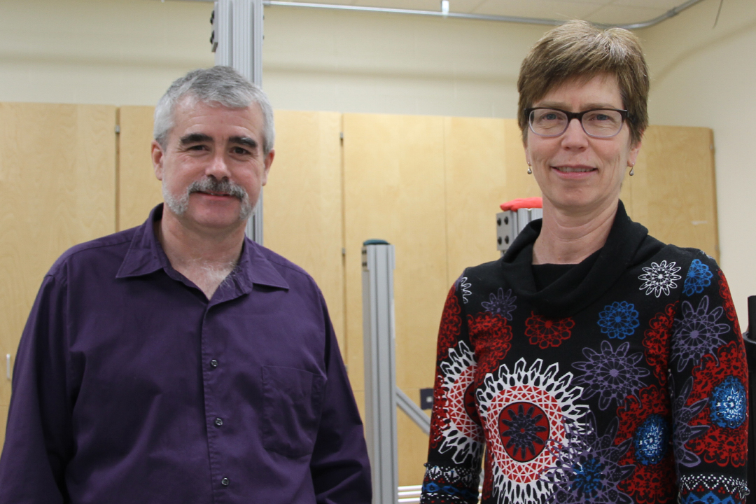 Joel Lanovaz and Cathy Arnold research fall-related injuries in older, frail adults.