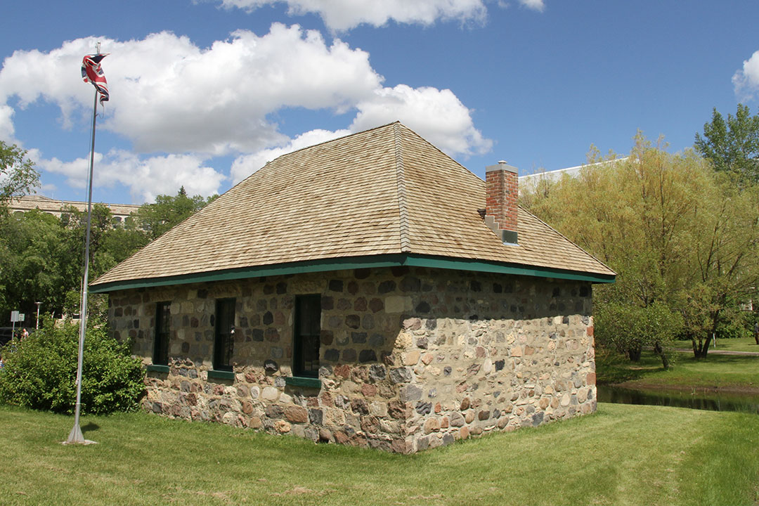 The Little Stone School House was built in 1887, making it the oldest building in Saskatoon.