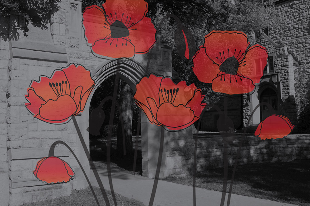 Remembrance Day service on campus