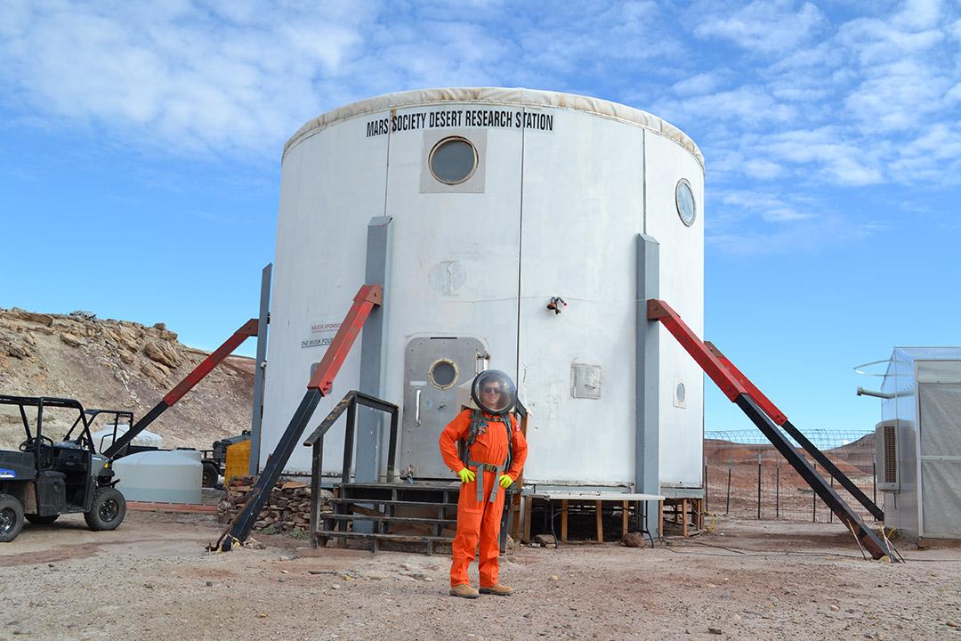astronaut training program leads u of s student to  u201cmars