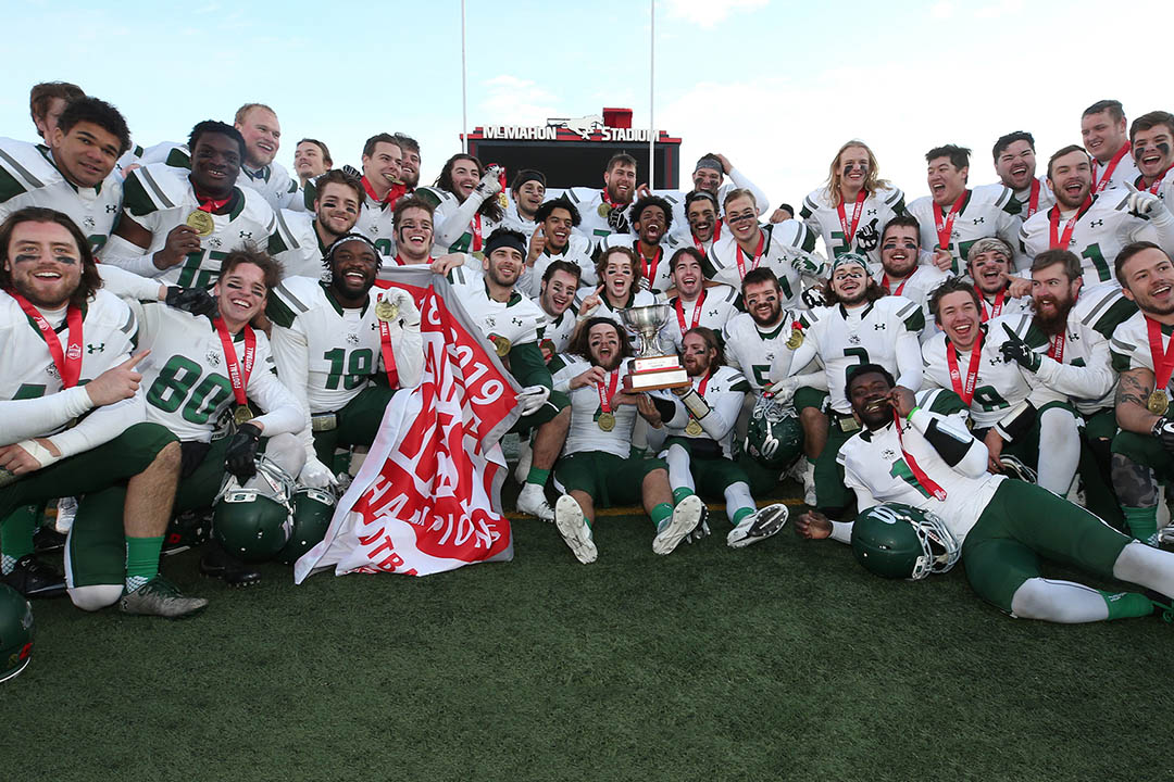 Huskies capture Canada West championship