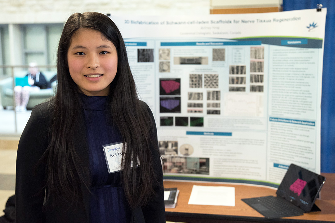 Young researchers earn top marks at USask science competition