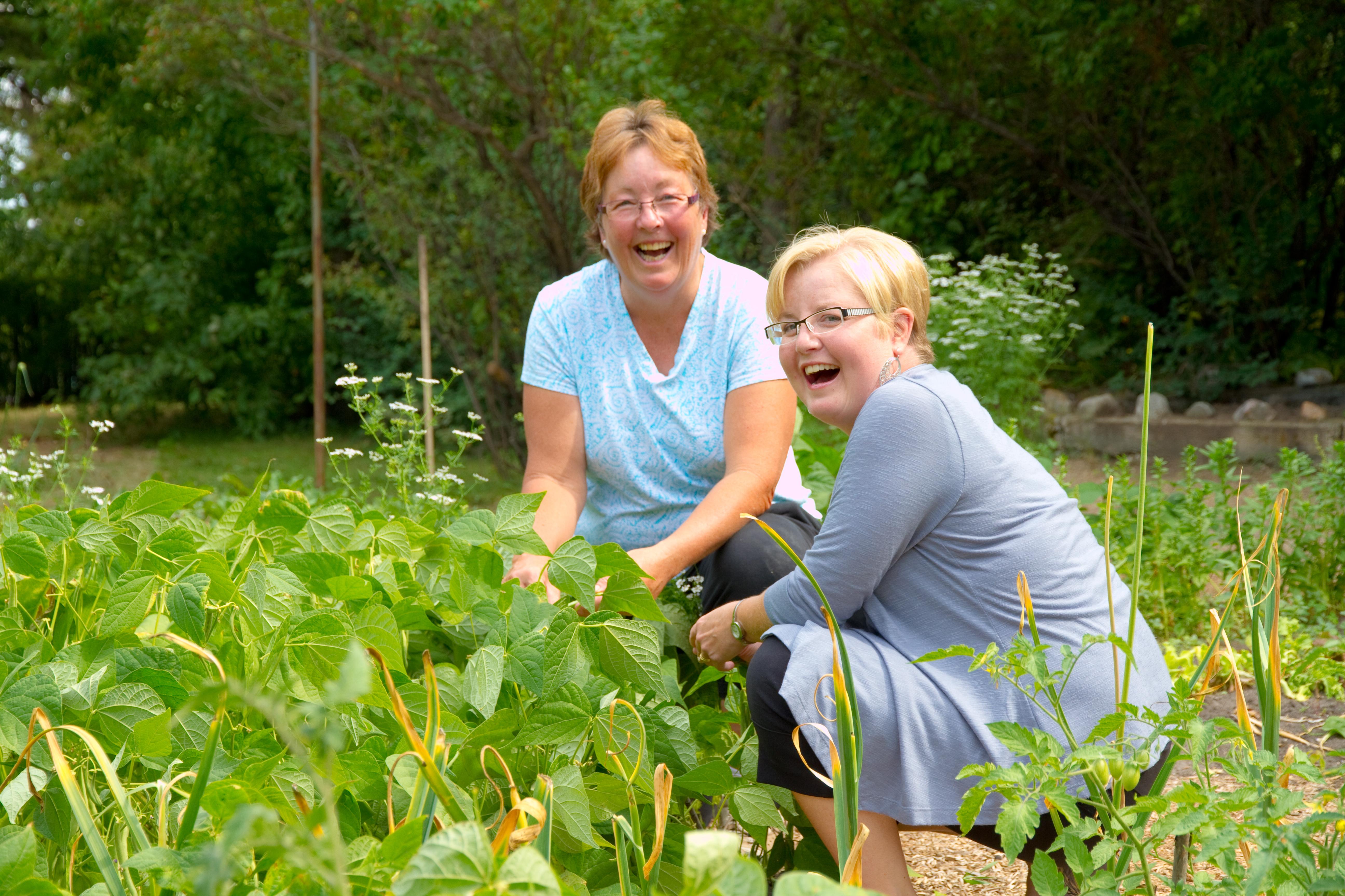 gardening provides good food good fun